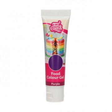 Colorante en gel Morado Purple 30 gr Funcakes