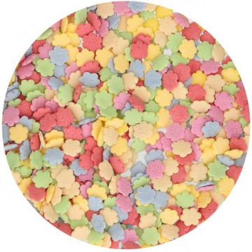Sprinkles Flores Colores 60 g Funcakes