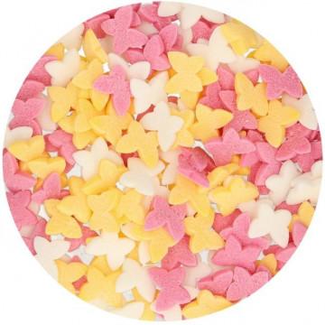 Sprinkles Mariposas de Colores 60 g Funcakes