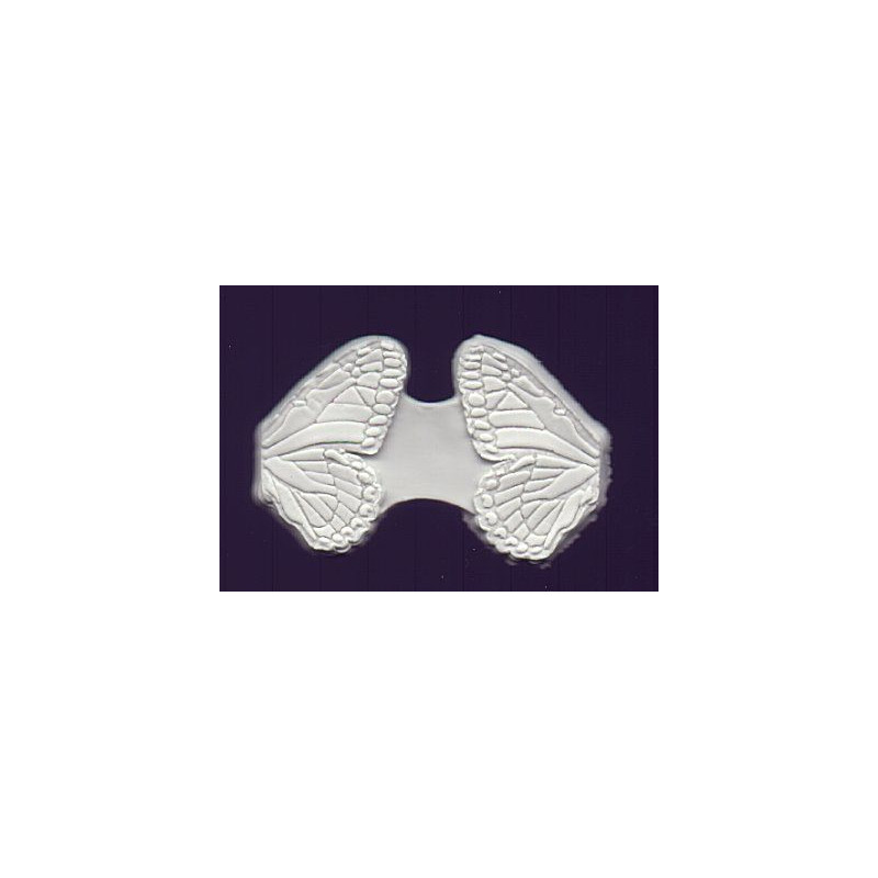 Molde silicona marcador de alas de mariposa L DPM