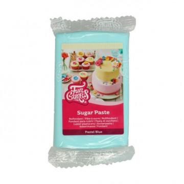 Fondant Azul Pastel 250 g Funcakes