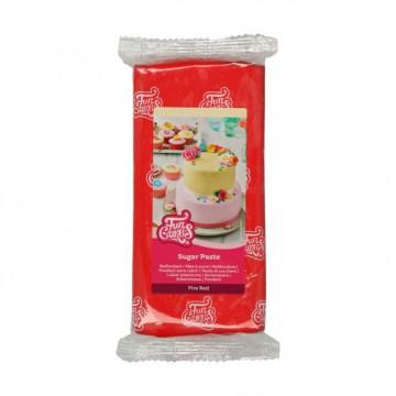 Fondant Rojo 1kg Funcakes