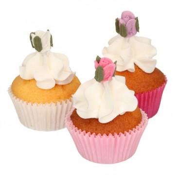 Decoraciones comestibles Rosas Mini Funcakes