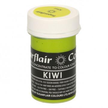 Colorante en pasta Gama Pastel Kiwi Sugarflair