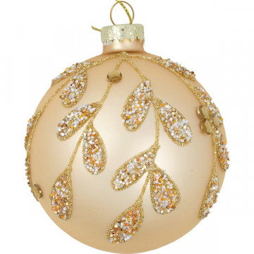 Bola de Navidad Rosa Madison Gold Green Gate