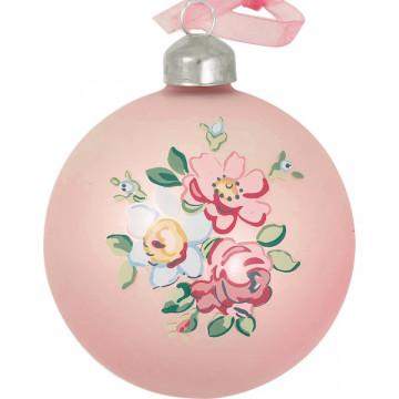 Bola de Navidad Rosa Madison Pale Pink Green Gate