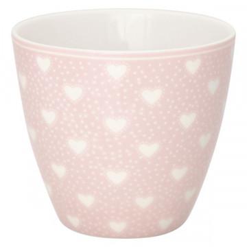 Tazón de leche Marie Penny Pale Pink Green Gate