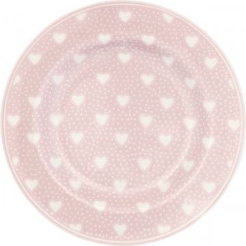 Plato de cerámica 15 cm Penny Pale Pink Green Gate