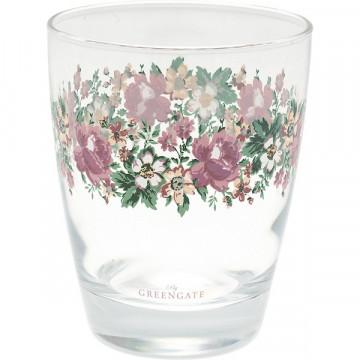 Vaso de cristal Marie Peach Green Gate