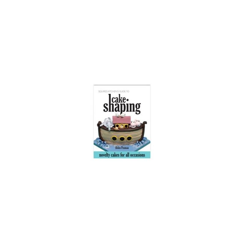Libro Guía Squires Kitchen para Esculpir Tartas por Helen Penman