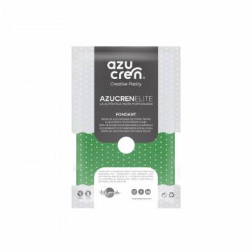 Fondant listo para usar en verde de 500 gr de Azucren Elite.