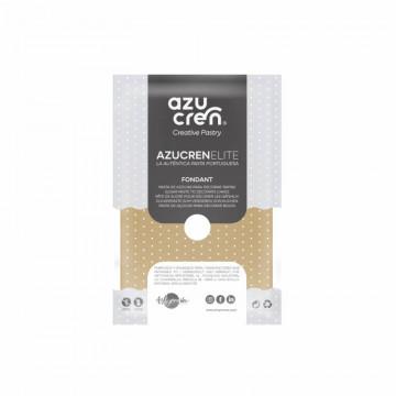 Fondant listo para usar en marrón café de 250 gr de Azucren Elite.