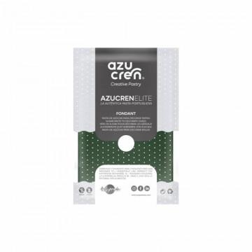 Fondant listo para usar en verde acebo de 250 gr de Azucren Elite.