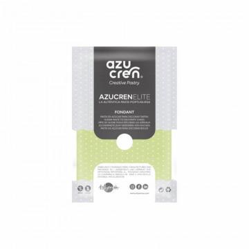 Fondant listo para usar en verde claro de 250 gr de Azucren Elite.