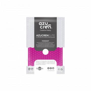 Fondant listo para usar en rosa fuerte de 250 gr de Azucren Elite.