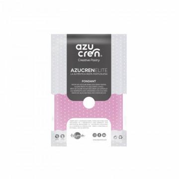 Fondant listo para usar en rosa de 250 gr de Azucren Elite.