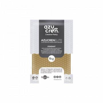 Fondant listo para usar en marrón café de 1 kg de Azucren Elite.