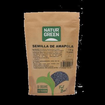Semillas de Amapola Bio 175g NaturGreen
