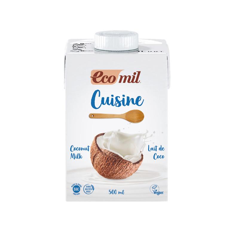 Leche de Coco Ecomil Cuisine Bio 500 ml NaturGreen