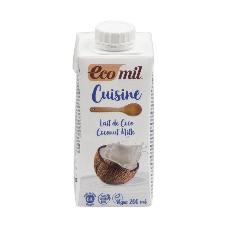 Leche de Coco Ecomil Cuisine Bio 200 ml NaturGreen