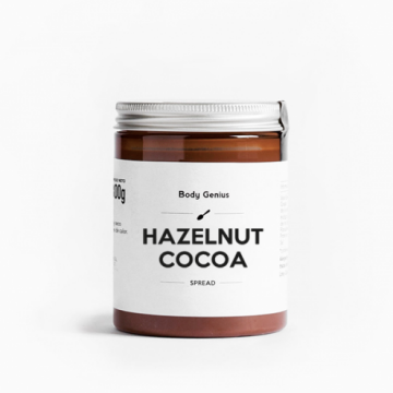 Crema de avellana y cacao 300 gr My Body Genius