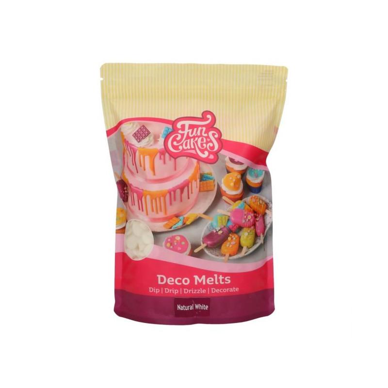 Candy Melt Blanco Natural 1kg  Funcakes