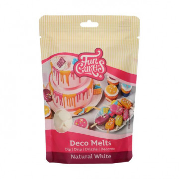 Candy Melt Blanco Natural 250 g Funcakes