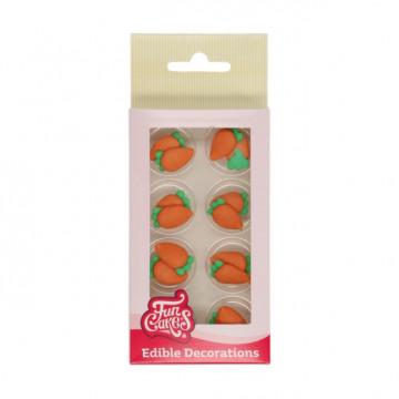 Decoraciones comestibles Zanahorías Funcakes
