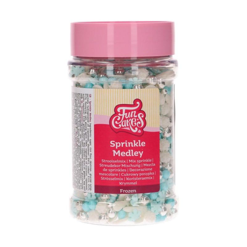 Sprinkles Mix Frozen Funcakes