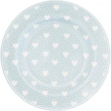 Plato de cerámica 20 cm Penny Pale Blue Green Gate