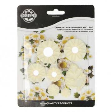 Pack de cortantes para margarita y crisantemo JEM