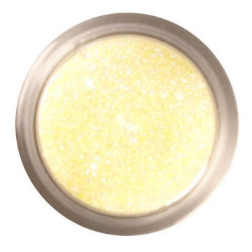 Purpurina fina Decorative Sparkles Iced - Lemon Rainbow Dust