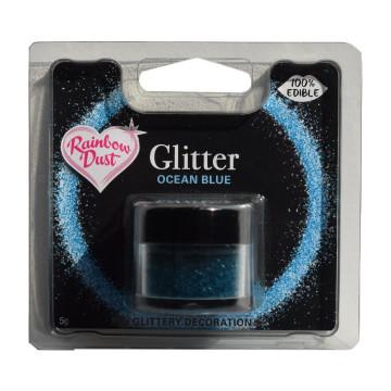 Purpurina comestible Azul Océano 5gr. Rainbow Dust