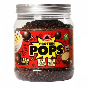 Cereales Protein POP Chocolate Negro 500 g MaxProtein