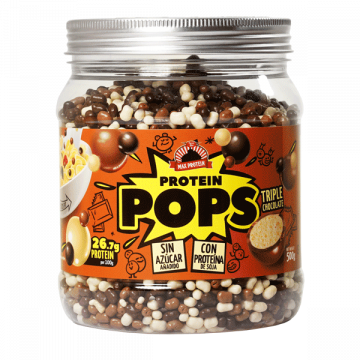 Cereales Protein POP Tripe Chocolate 500 g MaxProtein