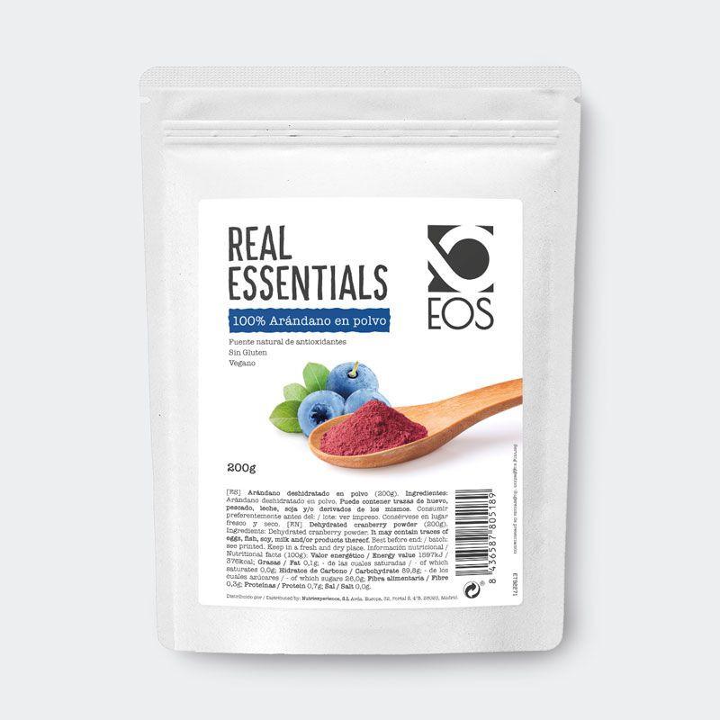 Arándano en polvo 200 g EOS Nutrisolutions