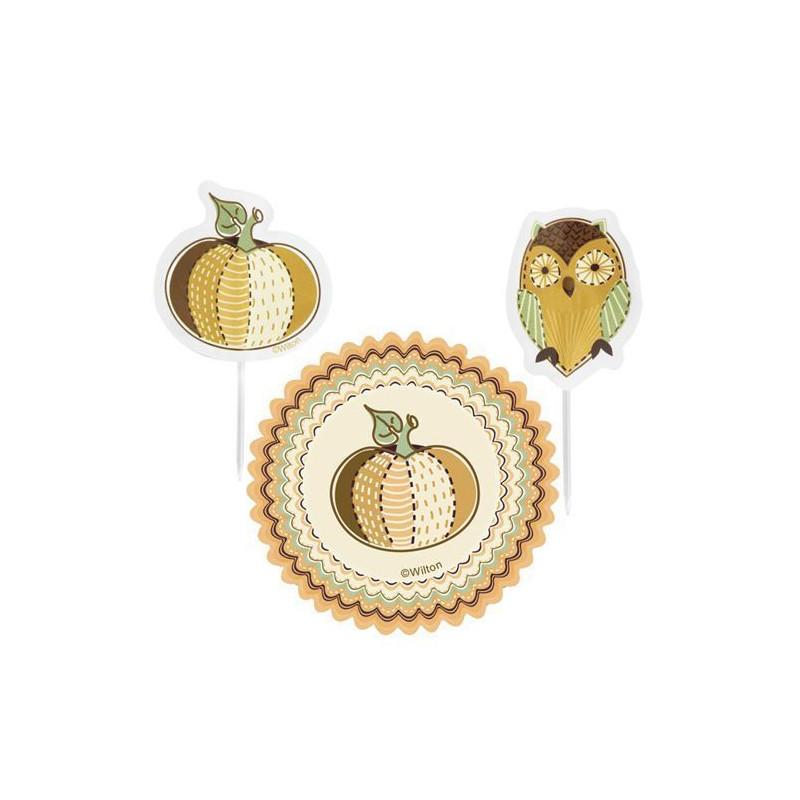 Set para cupcakes: Mystic Autumn Wilton