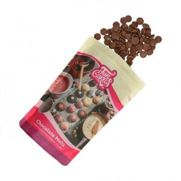 Chocolate con leche 350 g Funcakes