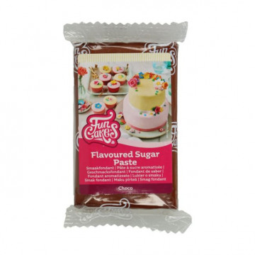 Fondant marrón sabor chocolate 250 g Funcakes