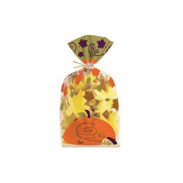 Bolsas para piruletas, galletas pack 20 unidades Elegant Natura Otoño Wilton