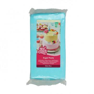 Fondant Azul Bebe 1kg Funcakes