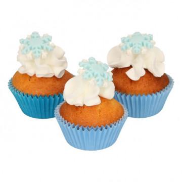 Decoraciones comestibles Copos de Nieve Funcakes