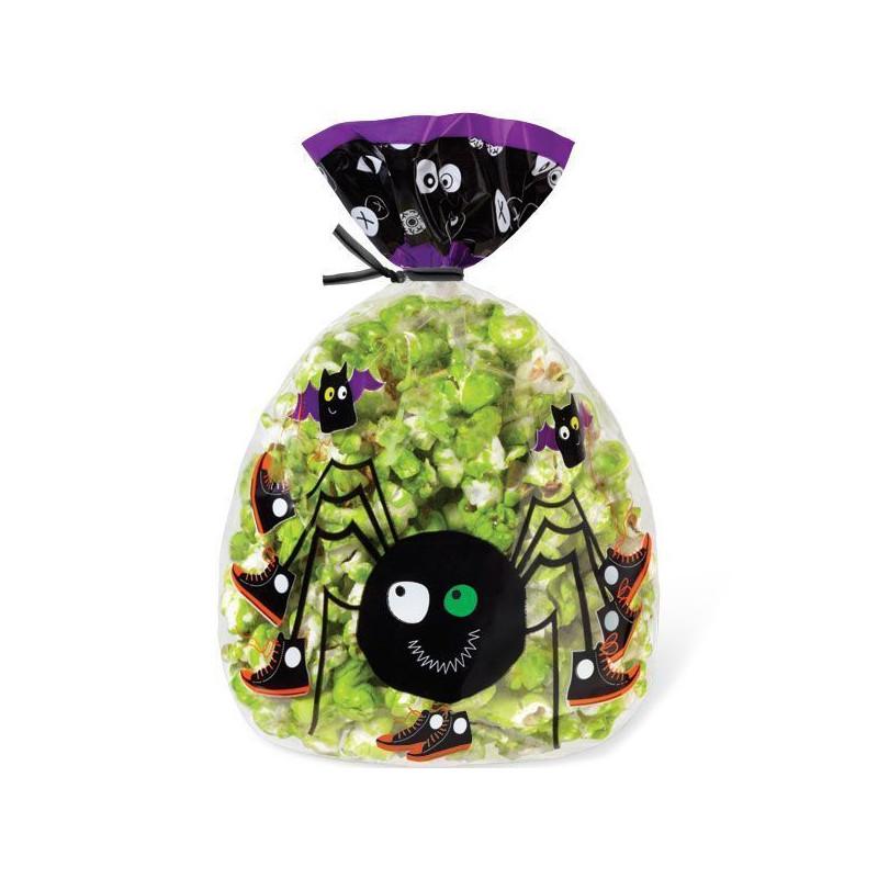 Bolsas para piruletas, galletas pack 15 unidades Arañita Wilton