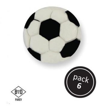 Decoraciones comestibles Balón de Fútbol PME