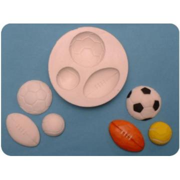Molde silicona Balones Varios FPC