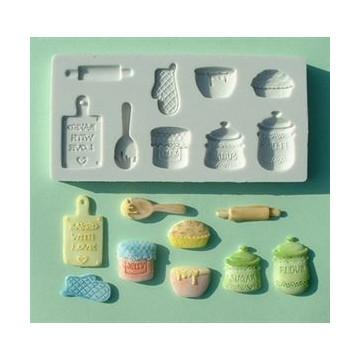 Molde silicona Home Baking Alphabet Mould