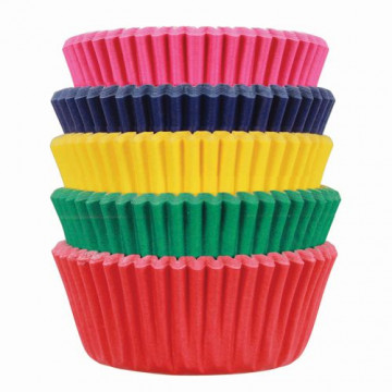 Cápsulas mini cupcakes colores 100 unidades PME