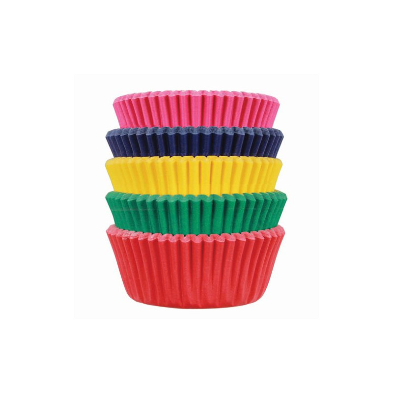 Cápsulas mini cupcakes carnival 100 unidades PME