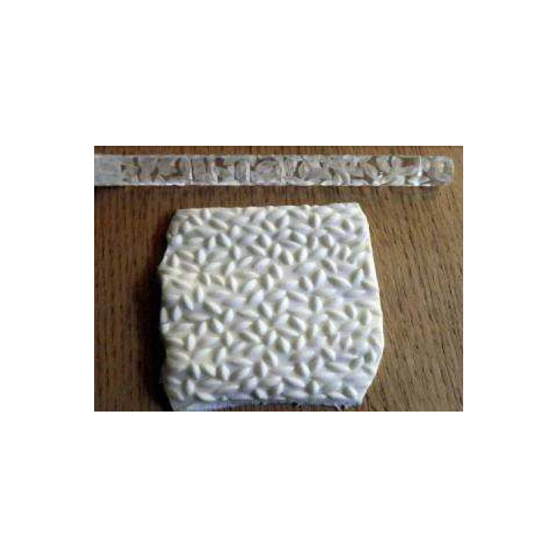 Rodillo texturizador 16 cm arroz