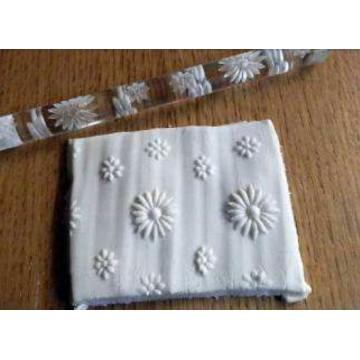 Rodillo texturizador 16 cm Flor Flores